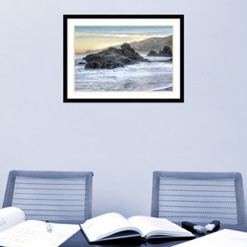 Amanti Art Rodeo Beach Waves 4 Framed Wall Art
