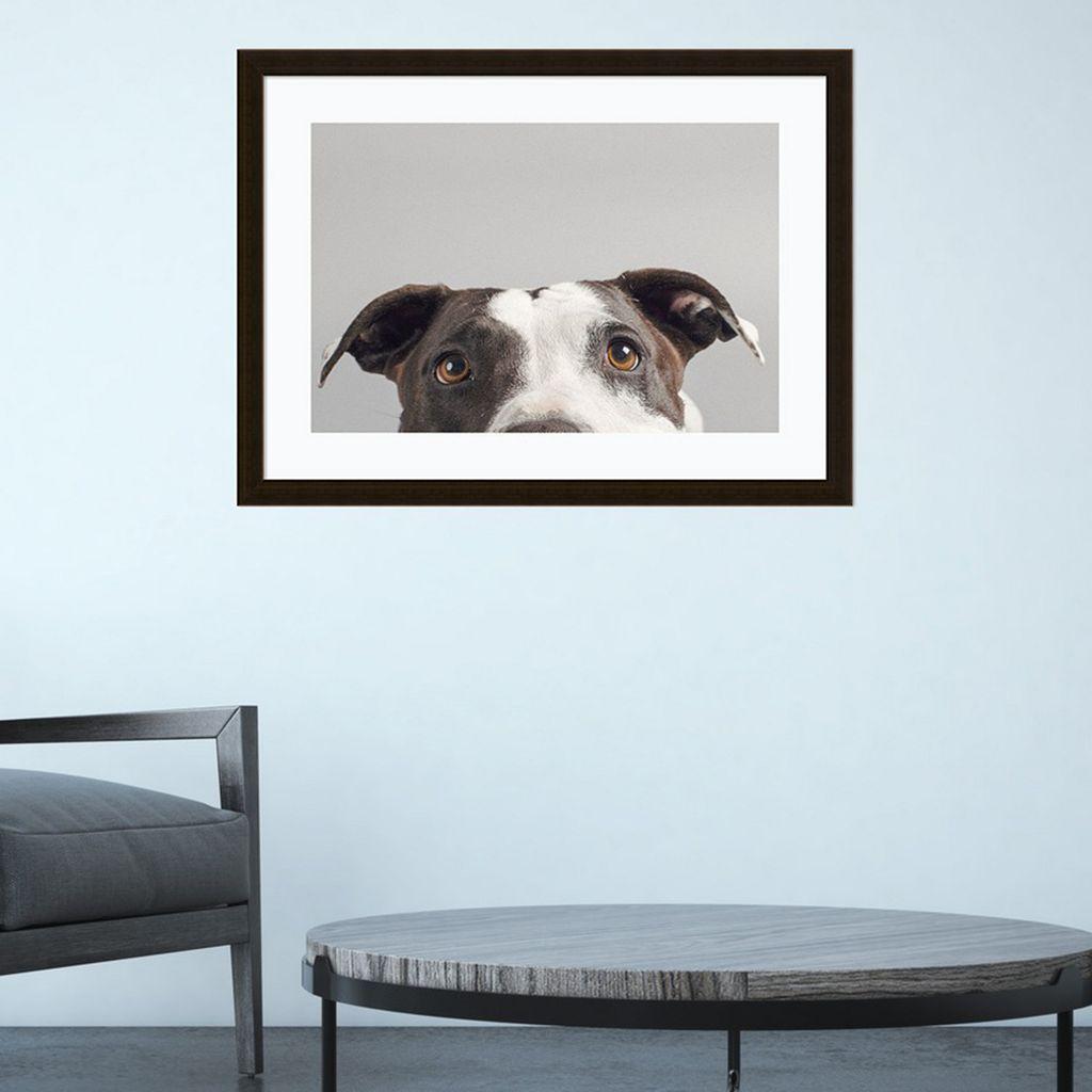 Amanti Art Ruby Dog Framed Wall Art