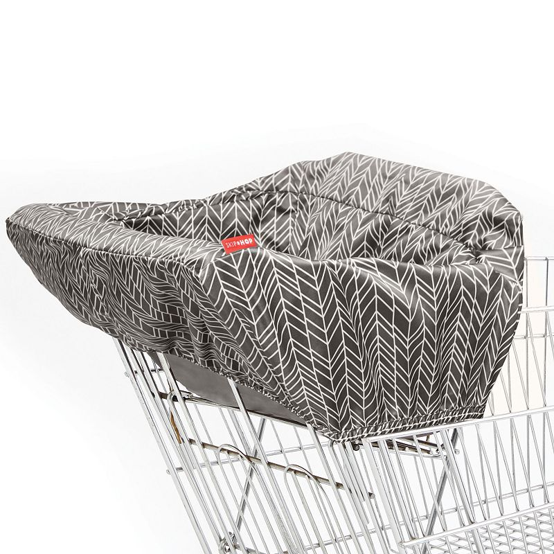 Skip Hop Take Cover Shopping Cart & High Chair Cover, Grey Keep your little one from touching shopping carts and restaurant-style high chairs with this Skip Hop cover. WHY WE LOVE IT Complete with a padded seat, leg openings for extra comfort and two front loops to attach toys, this cover keeps baby entertained and comfortable while you shop or dine. Its foldable design with built-in pouch make it portable and keeps messes contained for easy cleaning when you get home. Easy-to-attach design with 1 strap for baby & 1 strap for seat Seat belt with clip secures baby in cart Snap-open loop for hanging from stroller, wrist or diaper bag BPA, PVC & phthalate-free Fits most shopping carts & restaurant-style high chairs Age: 6 months & up Polyester Machine wash Manufacturer's 1-year limited warranty For warranty information please click here Imported Model no. 400206  Size: One Size. Color: Grey. Gender: unisex. Age Group: kids.