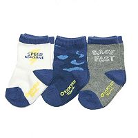 Boys 4-7x OshKosh B'gosh® 3 pkPrinted Crew Socks