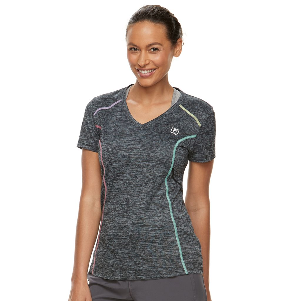 Women's FILA SPORT® Space-Dyed Racer Tee