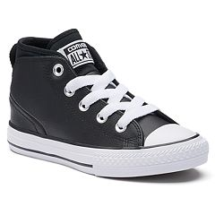 Kids' Converse Chuck Taylor All Star Syde Street Mid Leather Sneakers