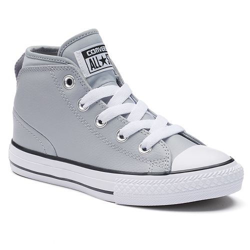 7ddd040a9ff Kids  Converse Chuck Taylor All Star Syde Street Mid Leather Sneakers