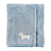 Baby Boy Carter's Dog Blanket