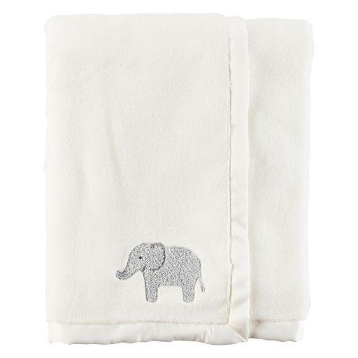 Baby Boy Carter's Elephant Plush Blanket