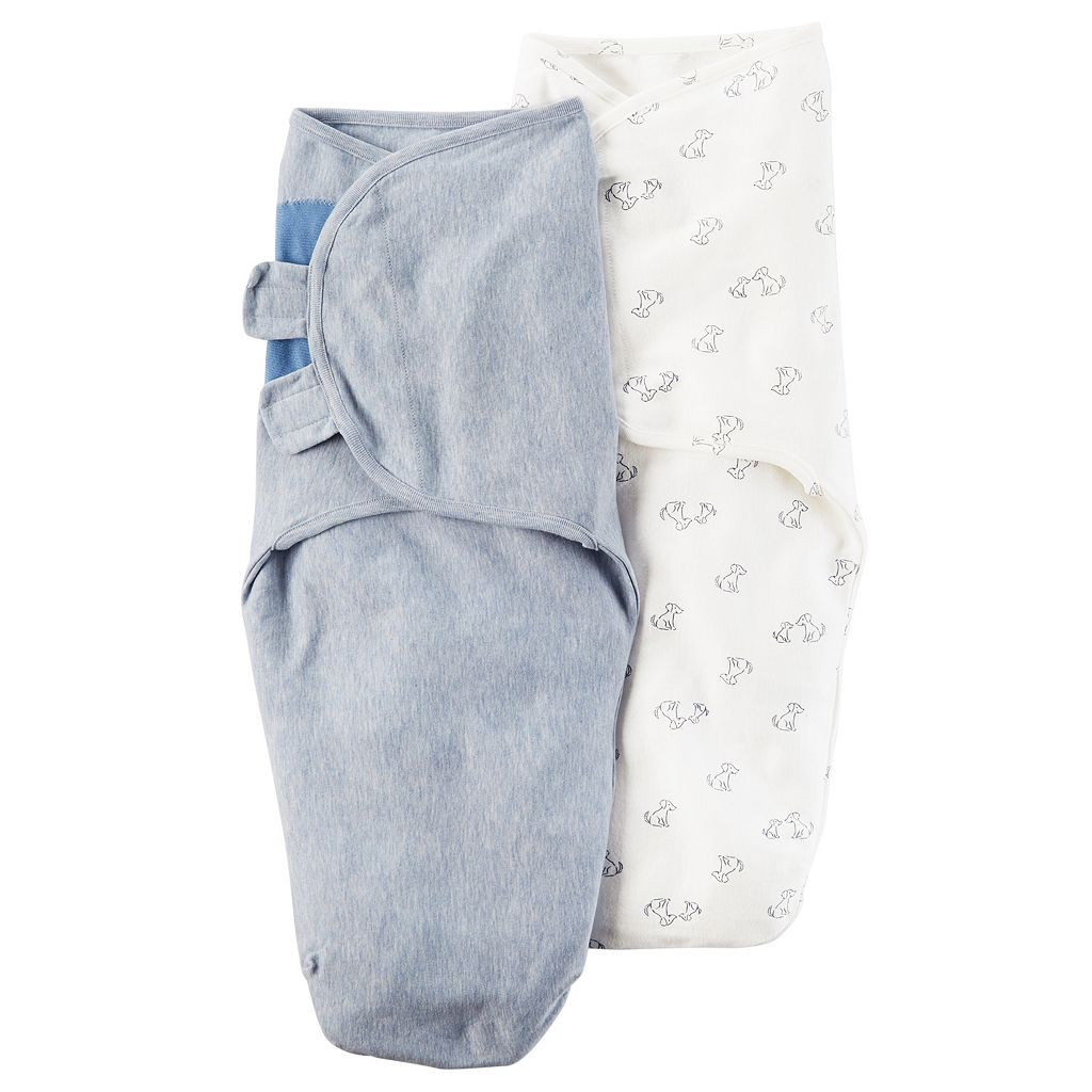 Baby Boy Carter's Dog 2-pk. Swaddles