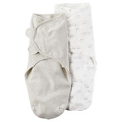 Baby Carter's 2 pkBabysoft Swaddle Blanket Wraps