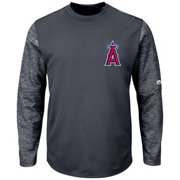 Men's Majestic Los Angeles Angels of Anaheim Tech Fleece Tee