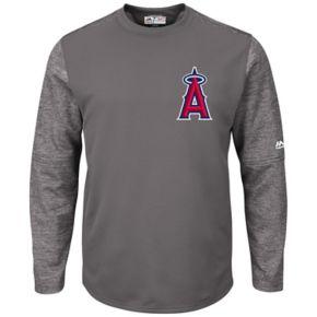 Men's Majestic Los Angeles Angels of Anaheim Tech Fleece Tee