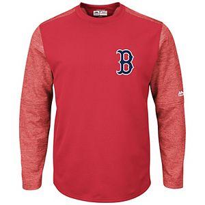 Men's Majestic Boston Red Sox Tech Fleece Tee