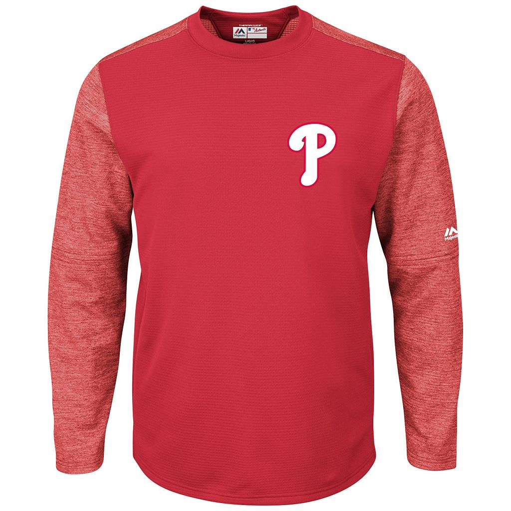 Men's Majestic Philadelphia Phillies Tech Fleece Tee