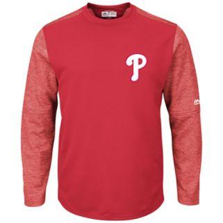 Men's Majestic Philadelphia Phillies Tech Fleece Tee