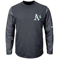 Men's Majestic Oakland Athletics Tech Fleece Tee