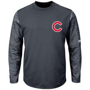 Men's Majestic Chicago Cubs Tech Fleece Tee