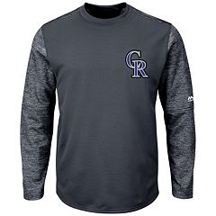 Men's Majestic Colorado Rockies Tech Fleece Tee