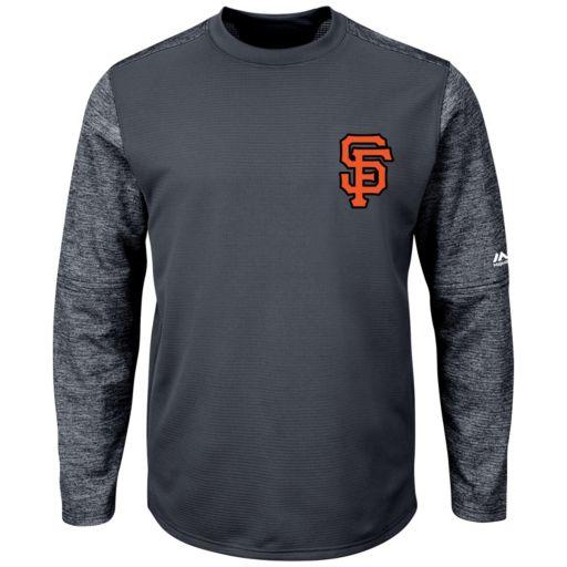 Men's Majestic San Francisco Giants Tech Fleece Tee