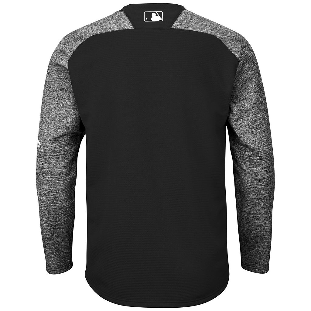 Men's Majestic Pittsburgh Pirates Tech Fleece Tee