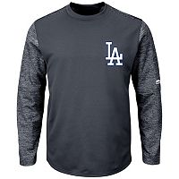 Men's Majestic Los Angeles Dodgers Tech Fleece Tee