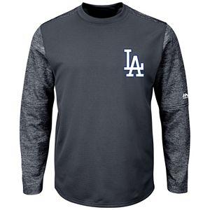 Men's Majestic Los Angeles Dodgers Tech Fleece Tee