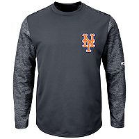 Men's Majestic New York Mets Tech Fleece Tee