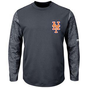 Men's Majestic New York Mets Tech Fleece Tee