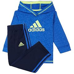 Baby Boy adidas Pullover Hoodie & Pants Set