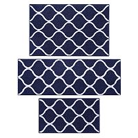 Maples 3 pc Daphne Trellis Rug Set