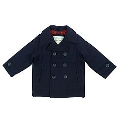 Toddler Boy Carter's Lightweight Peacoat Jacket