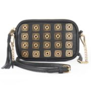Juicy Couture Medallion Studded Convertible Crossbody Bag