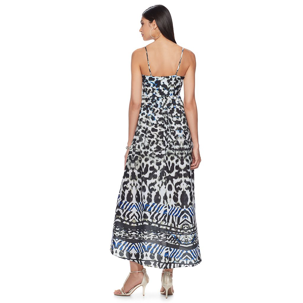 Women's Jennifer Lopez Print Cami Maxi Dress