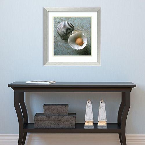 Amanti Art Scallops Framed Wall Art