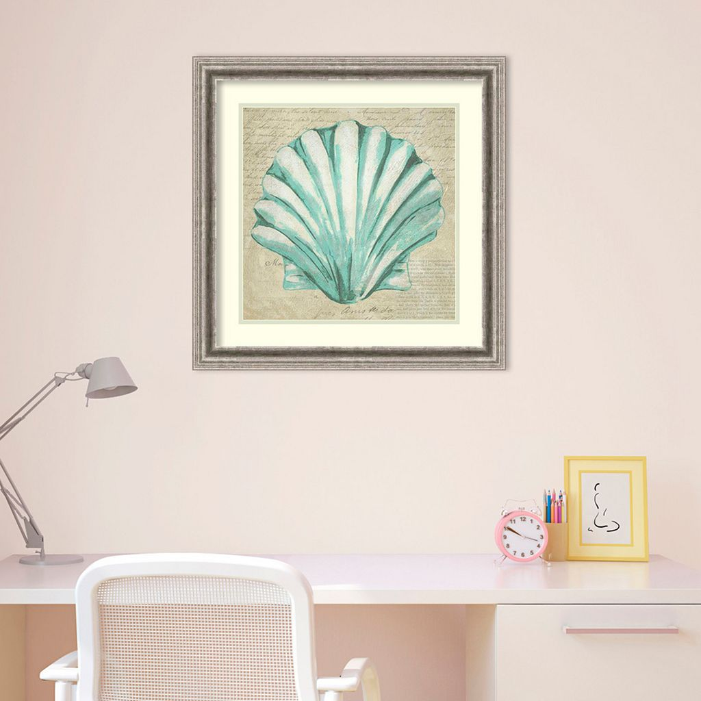 Amanti Art Seafoam Shell II Framed Wall Art