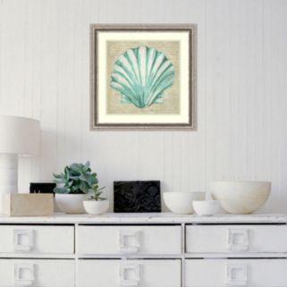 Amanti Art Seafoam Shell II Framed Wall Art