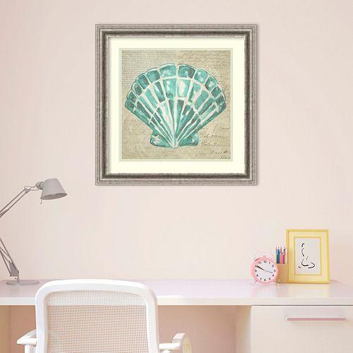 Amanti Art Seafoam Shell III Framed Wall Art