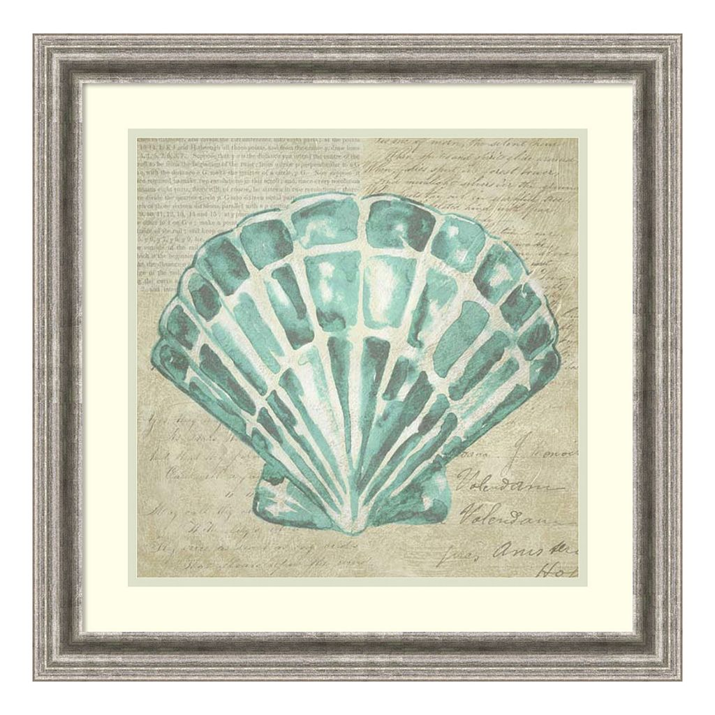 Amanti Art Seafoam Shell III Framed Wall Art