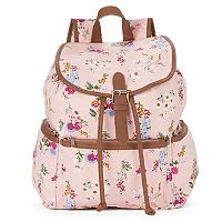 Candie's® Nicole Floral Buckle Backpack