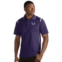 Men's Antigua Charlotte Hornets Merit Polo