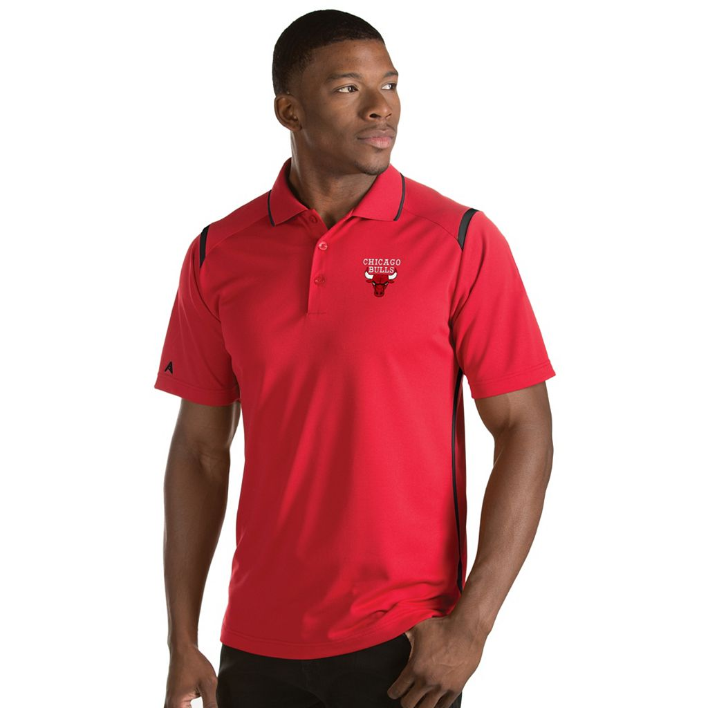 Men's Antigua Chicago Bulls Merit Polo
