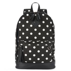 Candie's® Tiffany Printed Tassel Dome Backpack