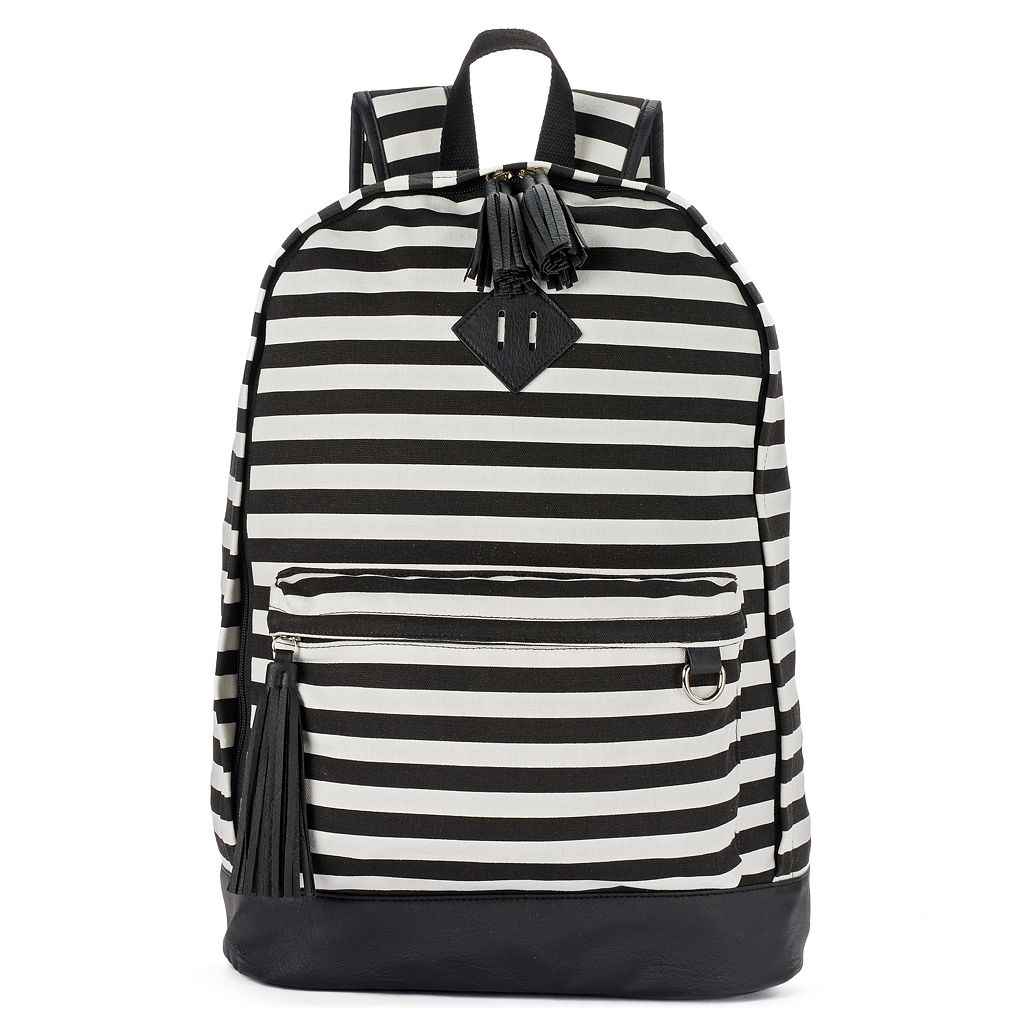 Candie's® Tiffany Printed Tassel Dome Backpack