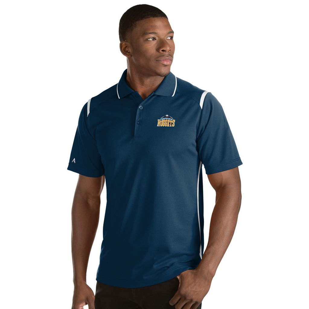 Men's Antigua Denver Nuggets Merit Polo