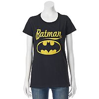 Juniors' DC Comics Batman Large Logo Graphic Tee