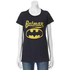 Juniors' DC Comics Batman Large Logo Graphic Tee