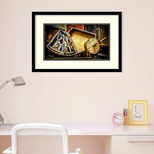 Amanti Art Sextant Framed Wall Art