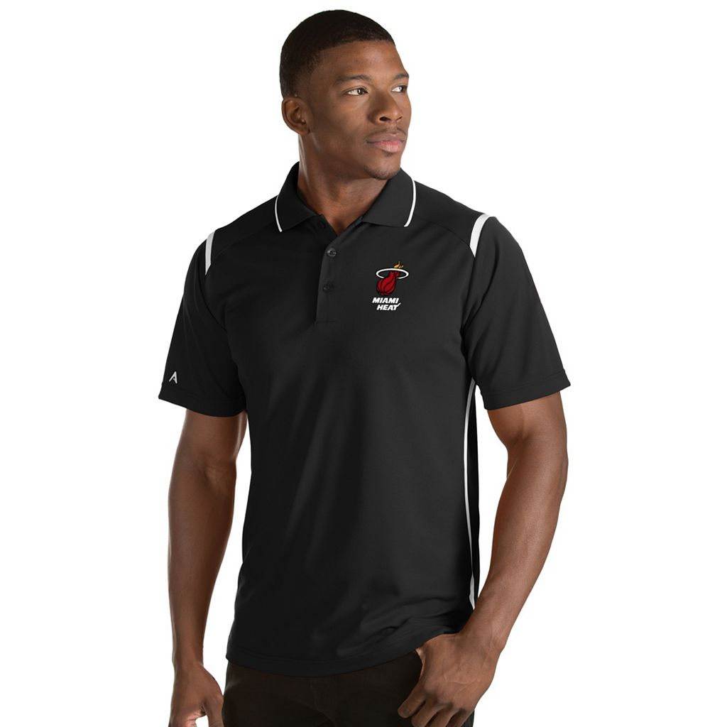 Men's Antigua Miami Heat Merit Polo