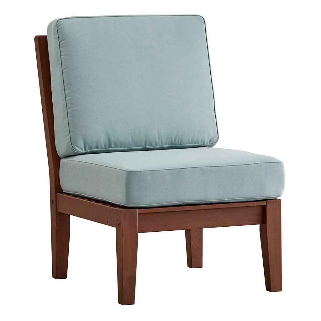 HomeVance Glen View Brown Patio Chair