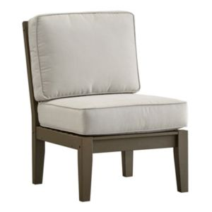 HomeVance Glen View Gray Patio Chair