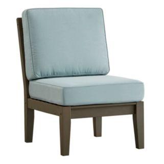 HomeVance Glen View Gray Patio Chair