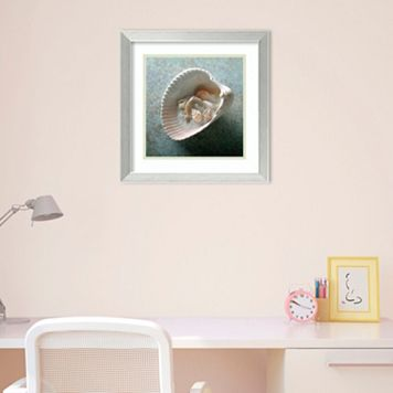 Amanti Art Shells In Shell Framed Wall Art