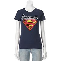 Juniors' DC Comics Superman Large Logo Graphic Tee